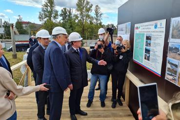 Нацпроекты: Чистая вода приходит в Тосненский район