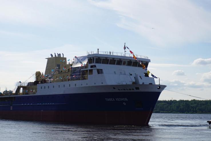 В Ленобласти построен корабль для Дальнего Востока