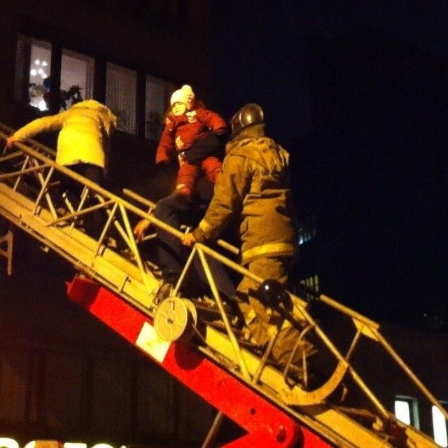 Огненная лестница: ступени на пути к спасению
